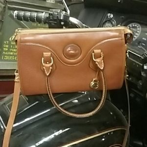 D&B, British Tan Dr Satchel Crossbody Bag